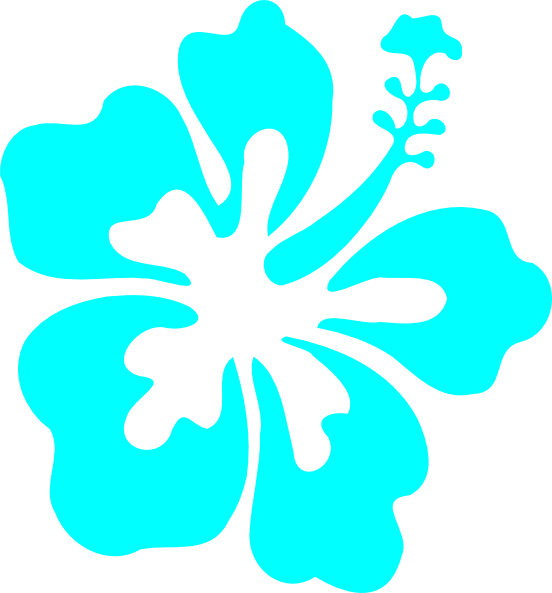 collection of blue. Number 1 clipart turquoise