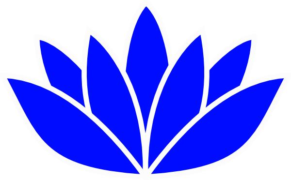 Lotus clipart blue lotus. Clip art of flower
