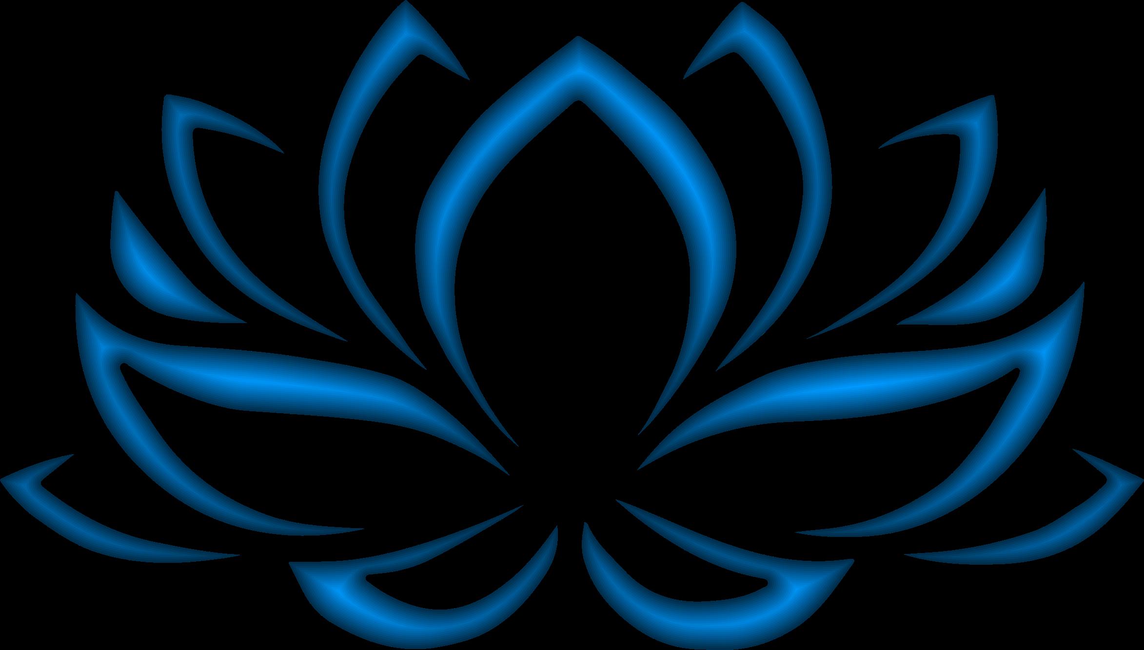Lotus clipart blue lotus. Indigo flower