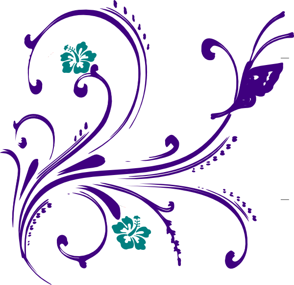Flower clipart butterfly. And panda free images
