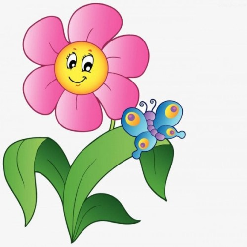 Flower clipart butterfly. Clip art arts for