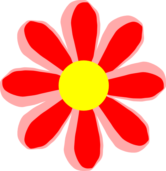 Cartoon red clip art. Poppy clipart 5 flower
