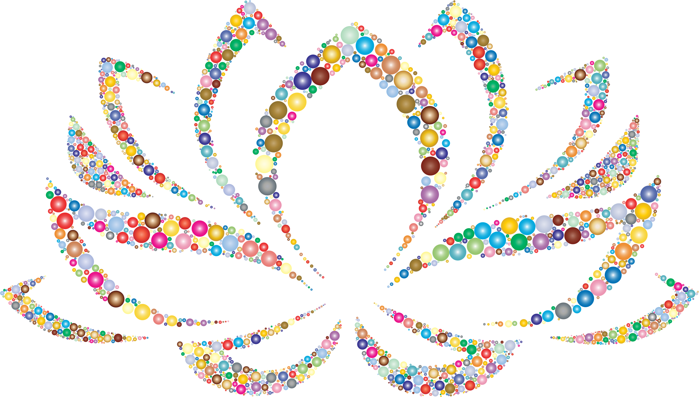lotus clipart colored