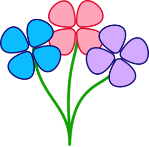 Free colorful cliparts download. Colors clipart flower