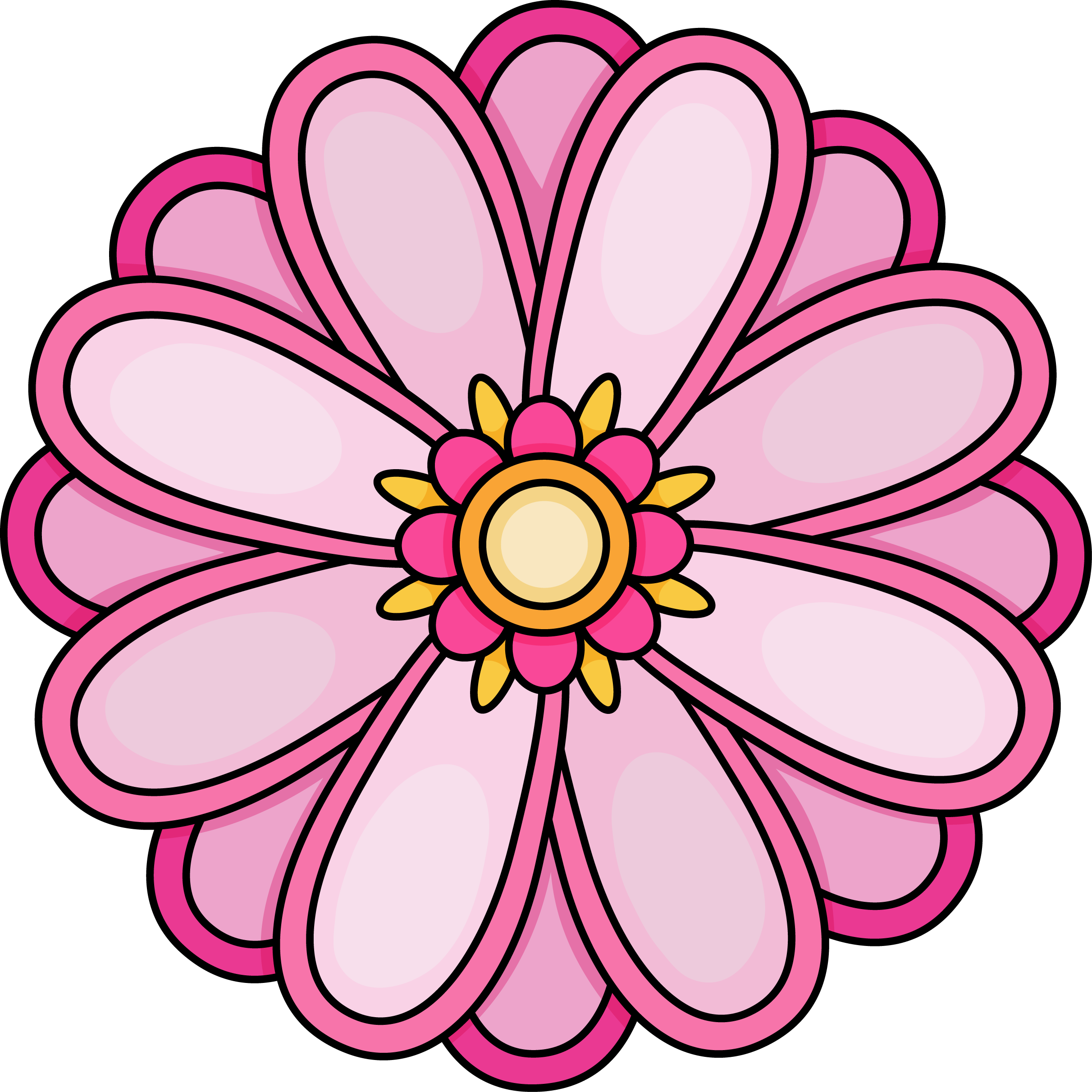 Images of flowers colouring. Colors clipart printable