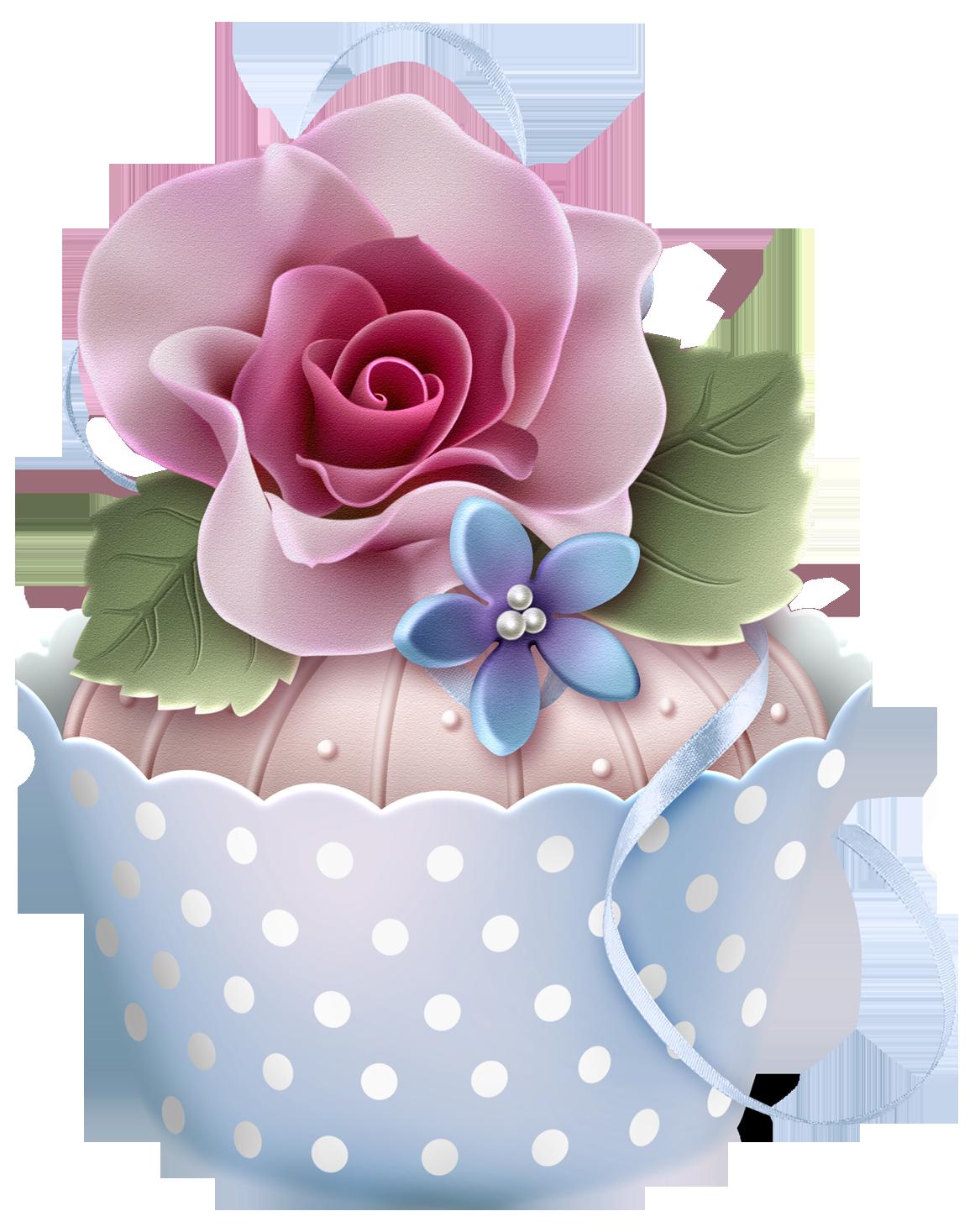 muffins clipart flower