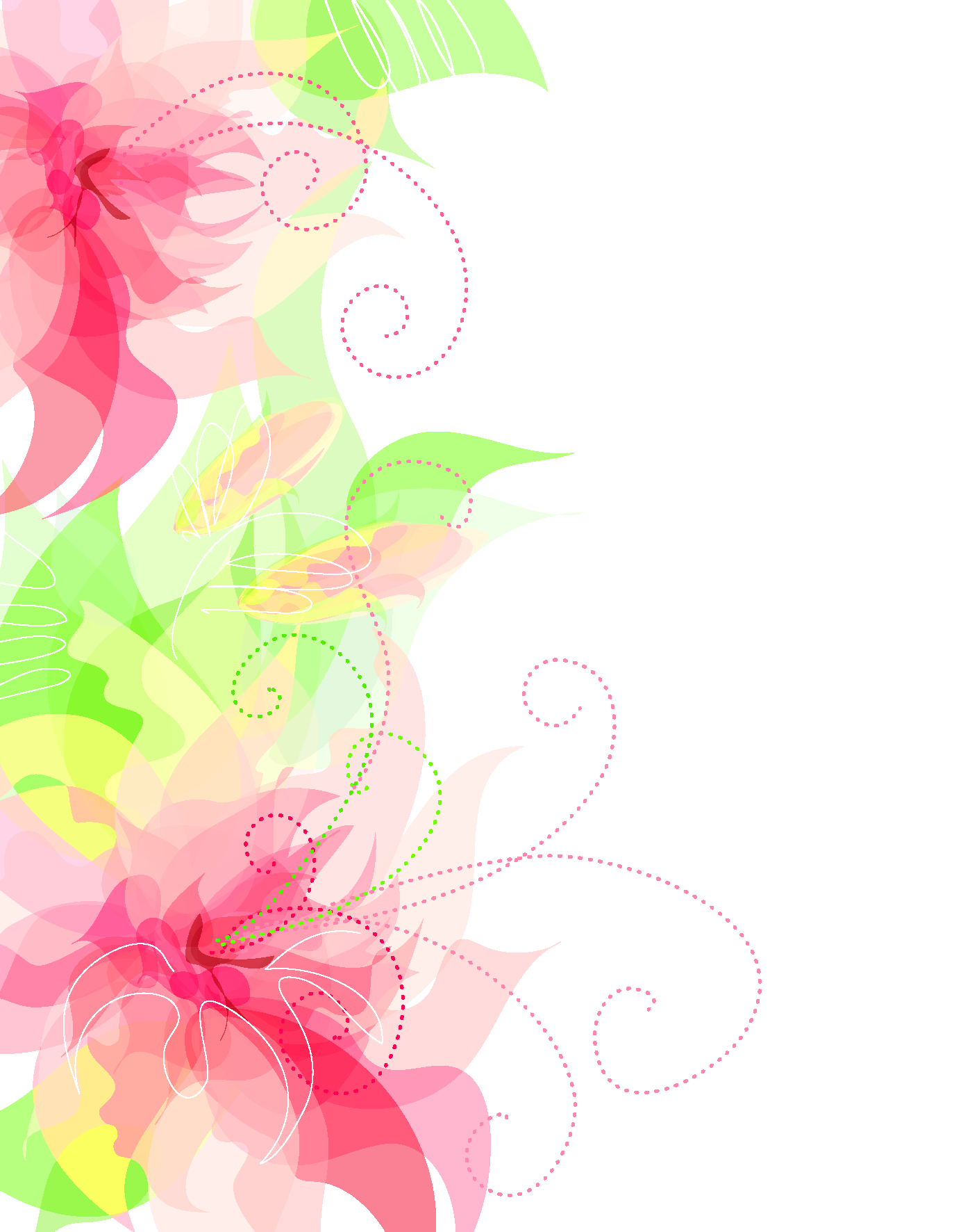 Floral decoration transparent clipart. Cute flower png