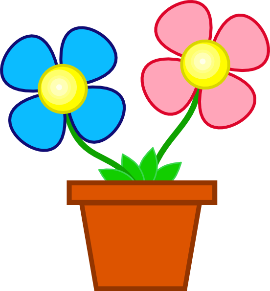 Cute flower at getdrawings. Planting clipart animation