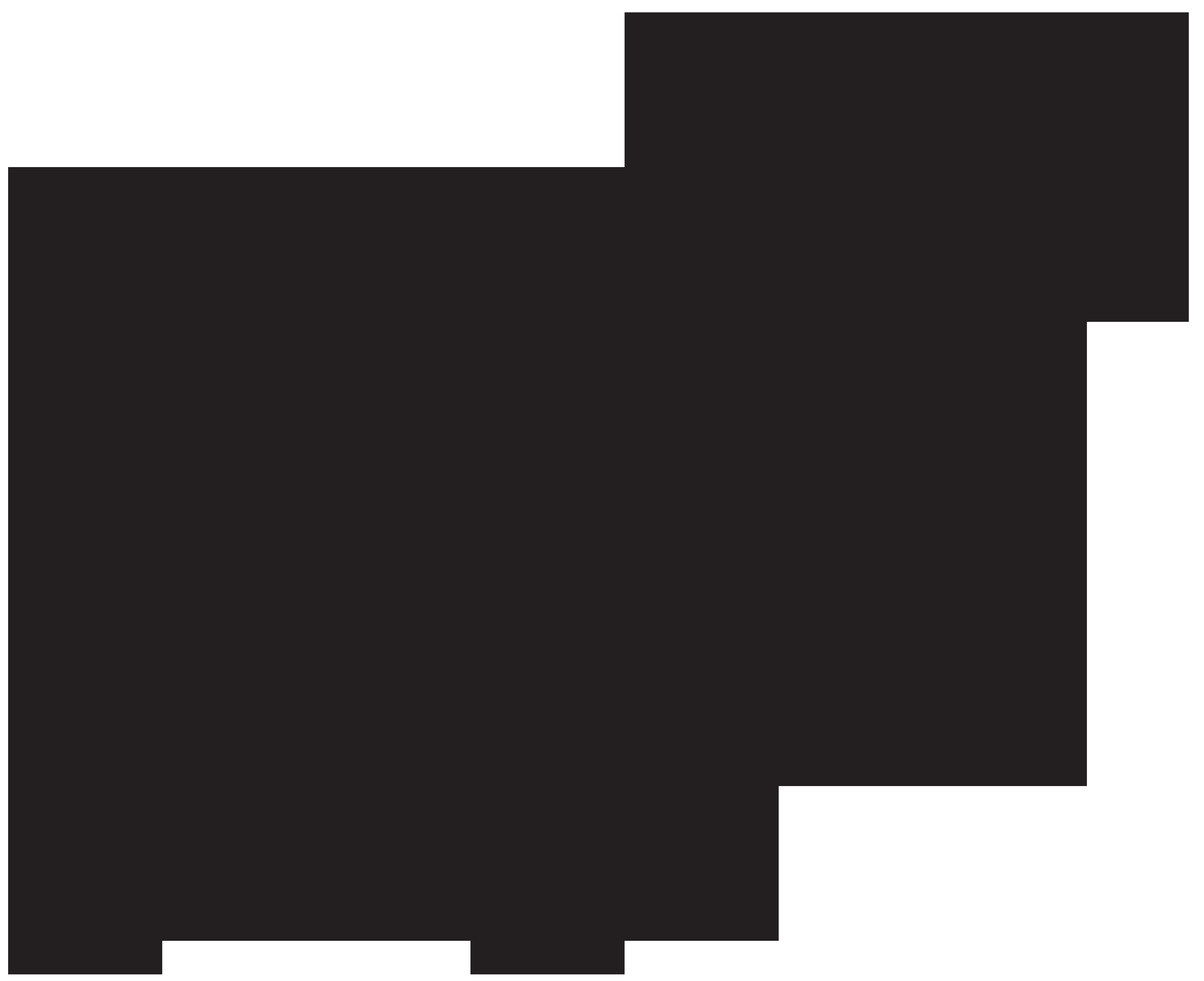 Fallow png clip art. Deer clipart silhouette