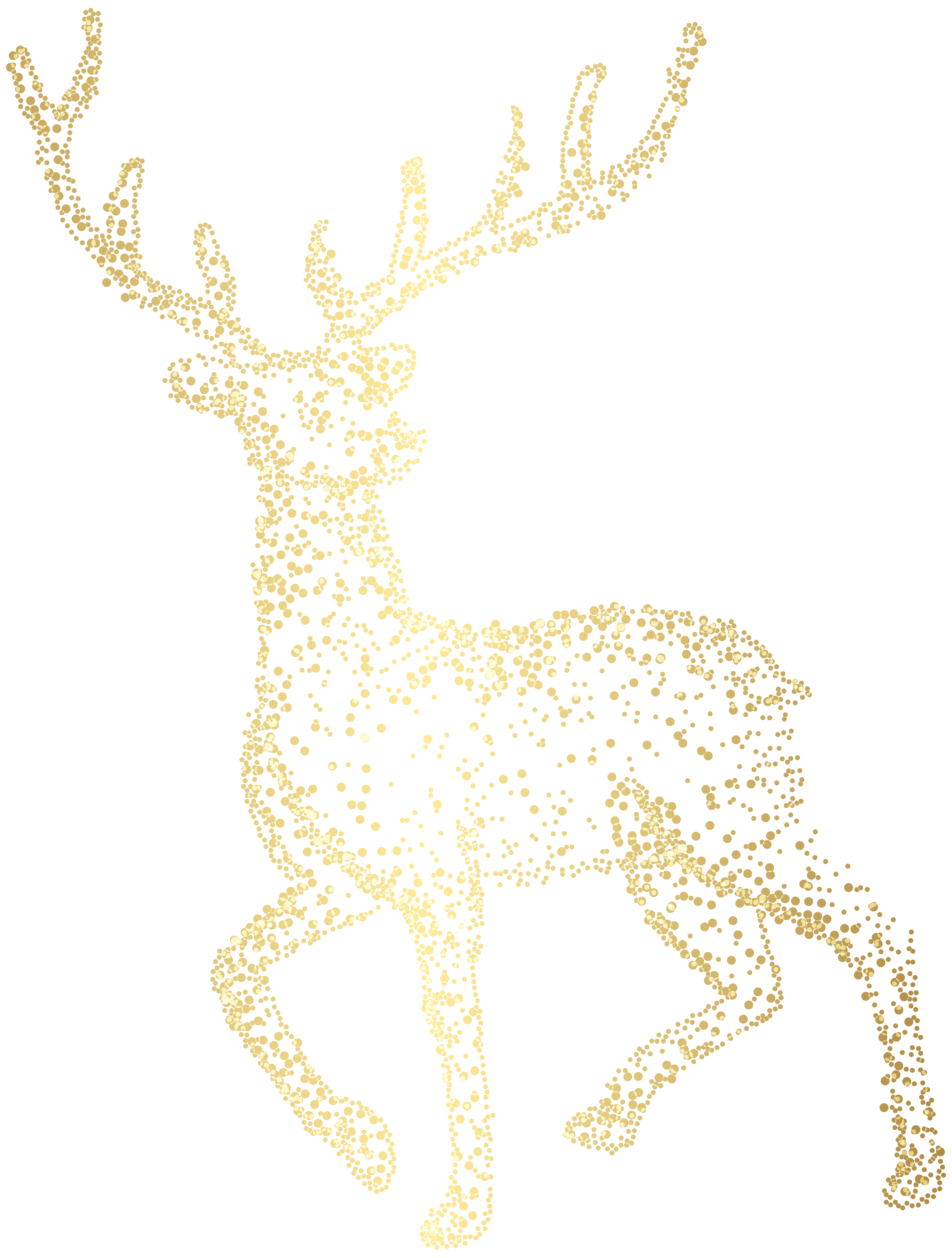 Christmas ornament png clip. Deer clipart love