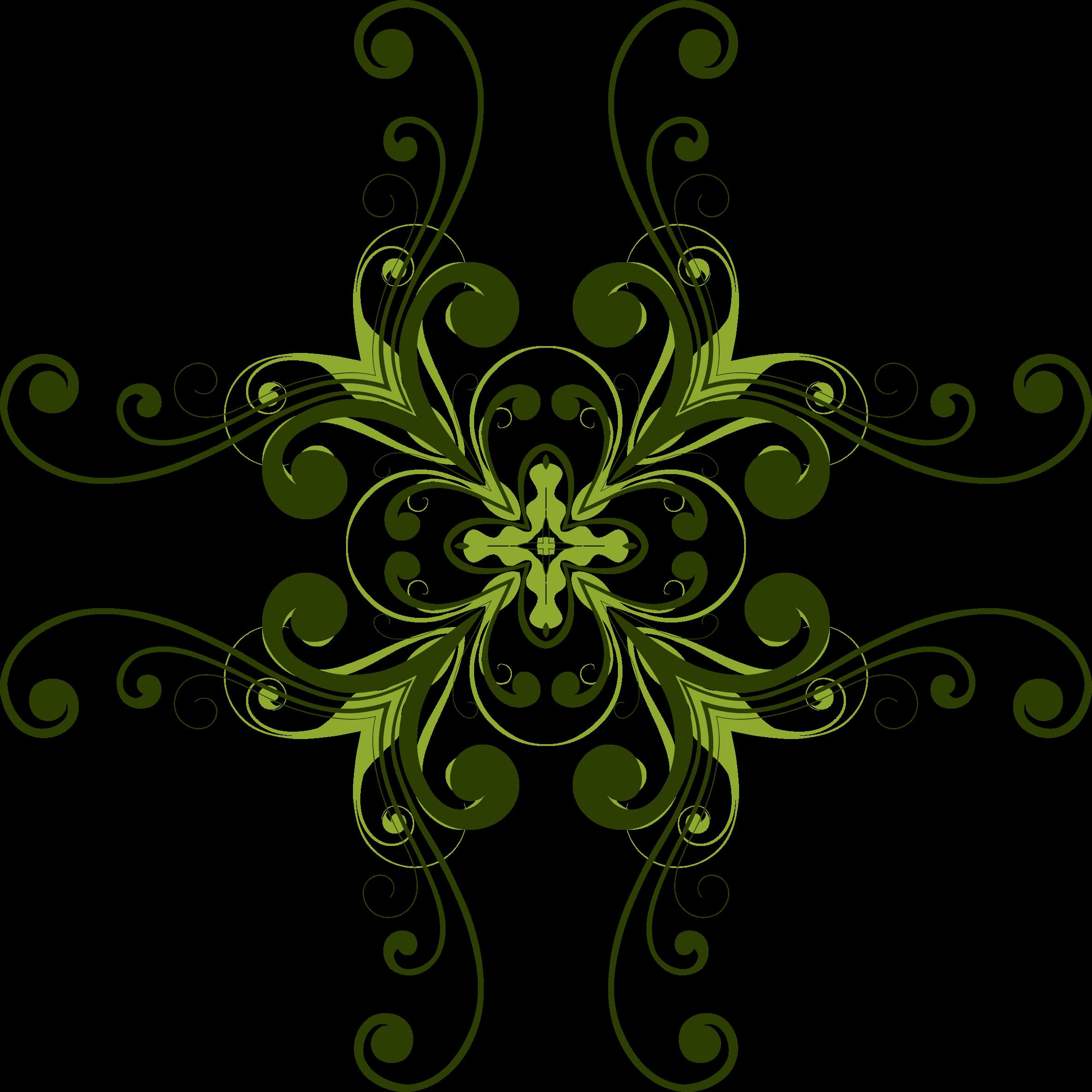 Flourish clipart flower. Design big image png