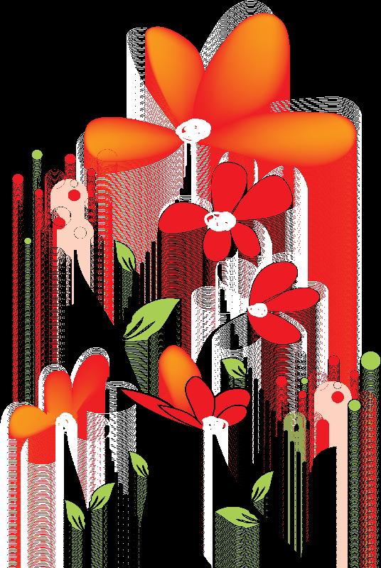 Flores ilustraciones en png. Shirts clipart crumpled