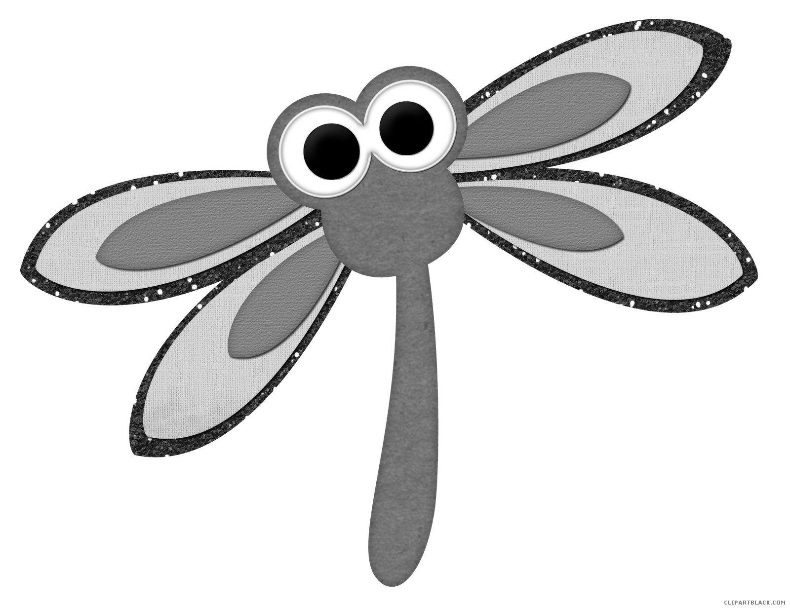 Dragonfly clipart insect. Drawing clip art transprent