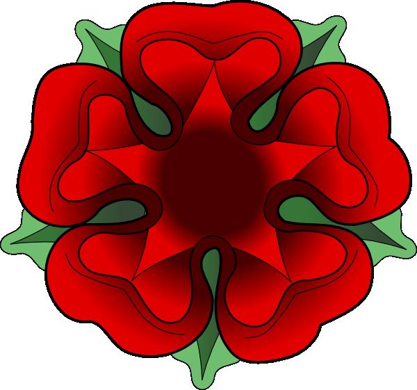 Tudor rose clip art. Face clipart flower