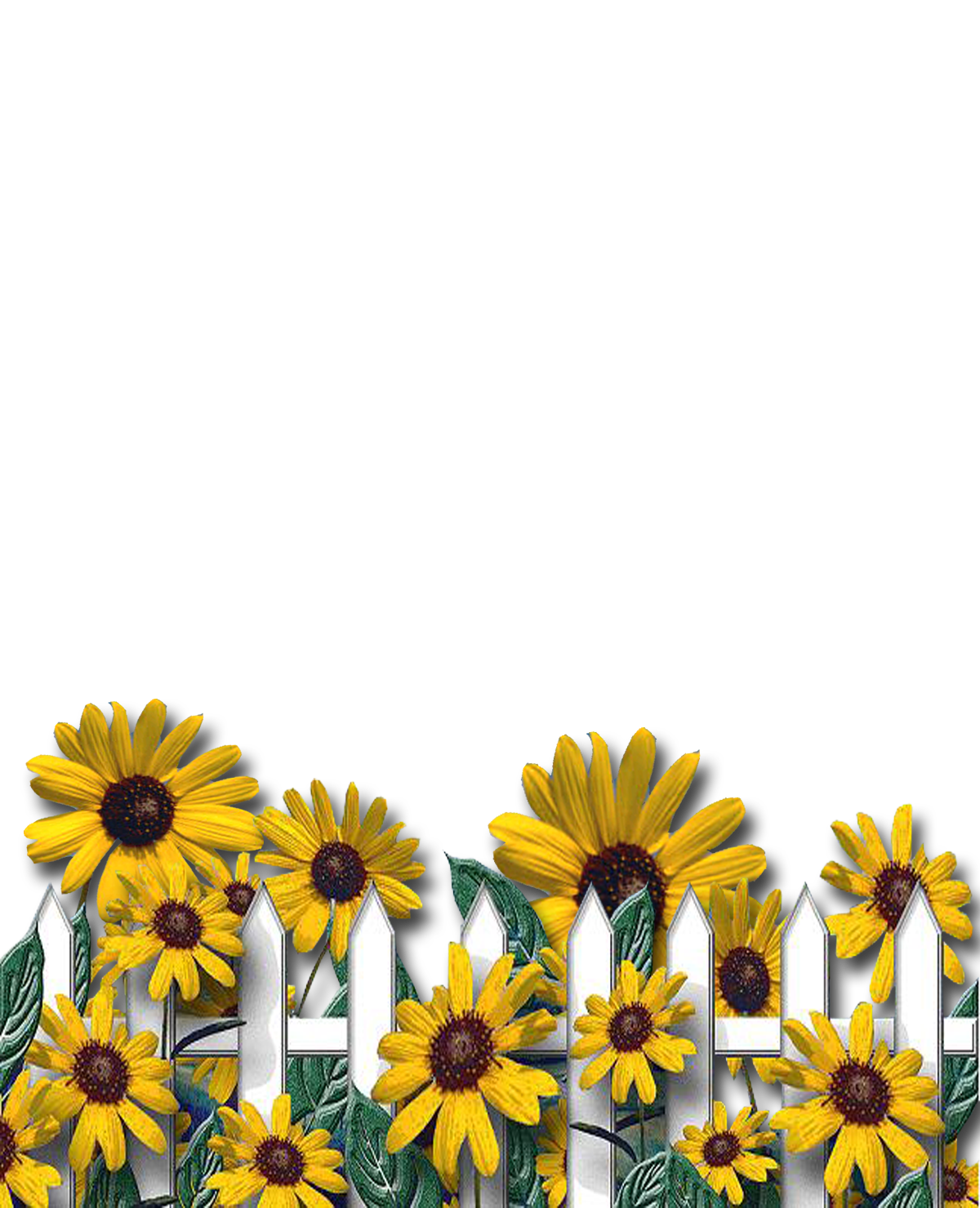 Clipart flower fence. Capital letter a png