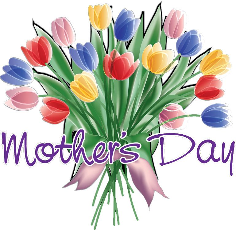 Clip art . Flower clipart happy mothers day