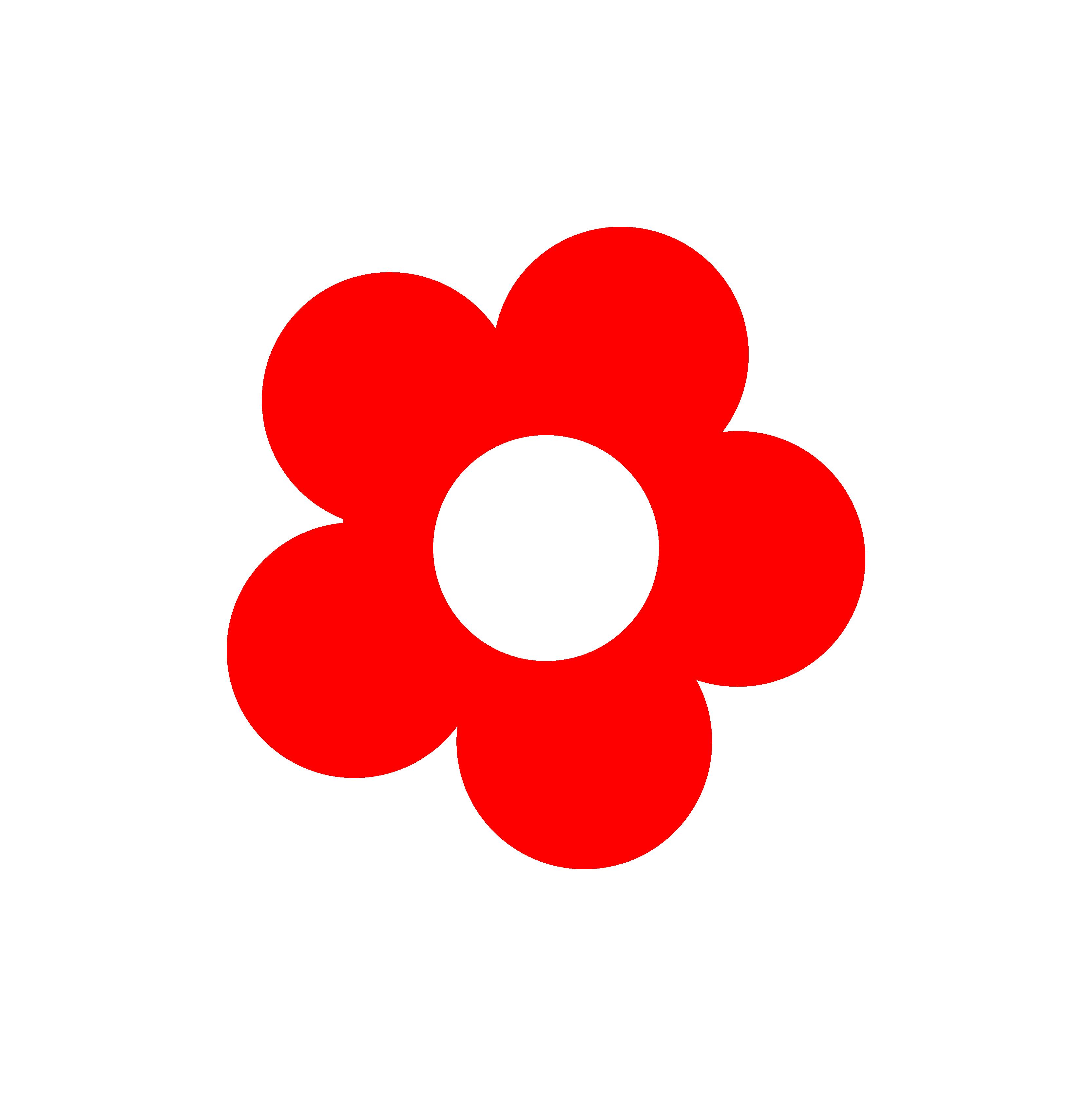 Retro clipart vector. Hippy flower