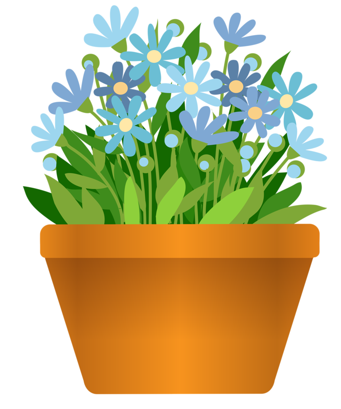 png pinterest potted. Flower clipart garden