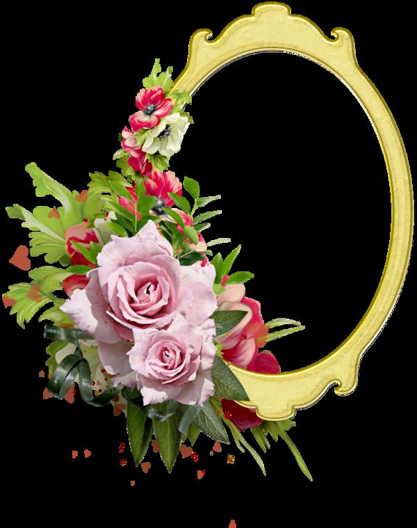 Cadres frame rahmen quadro. Floral clipart label