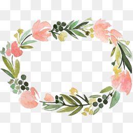 border creative flowers. Floral clipart label