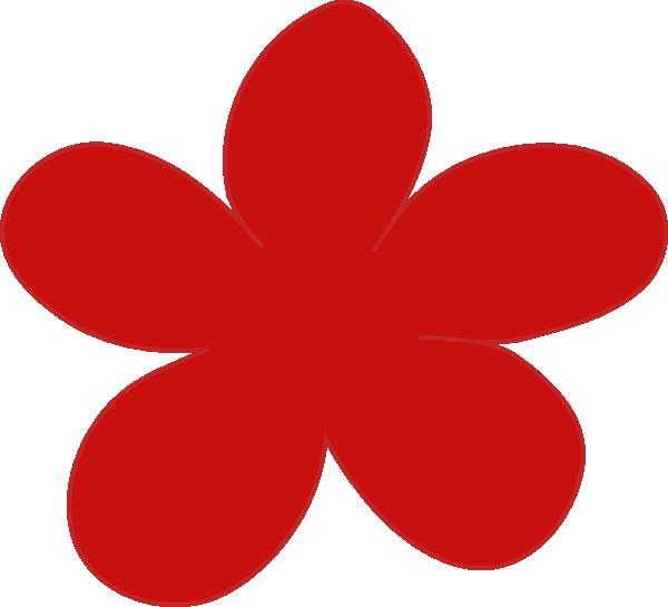 Poppy clipart free vector. Red flower clip art