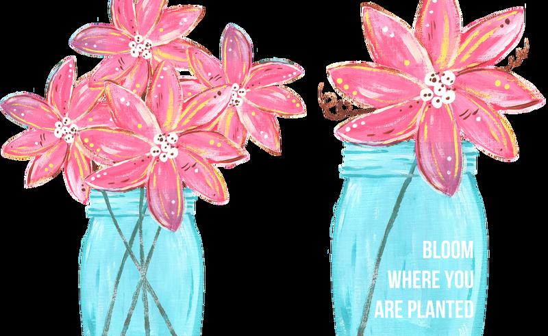 Paper drawing clip art. Clipart flowers mason jar