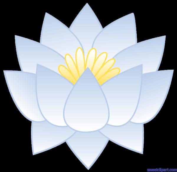 Sweet clip art page. Flower clipart nelum