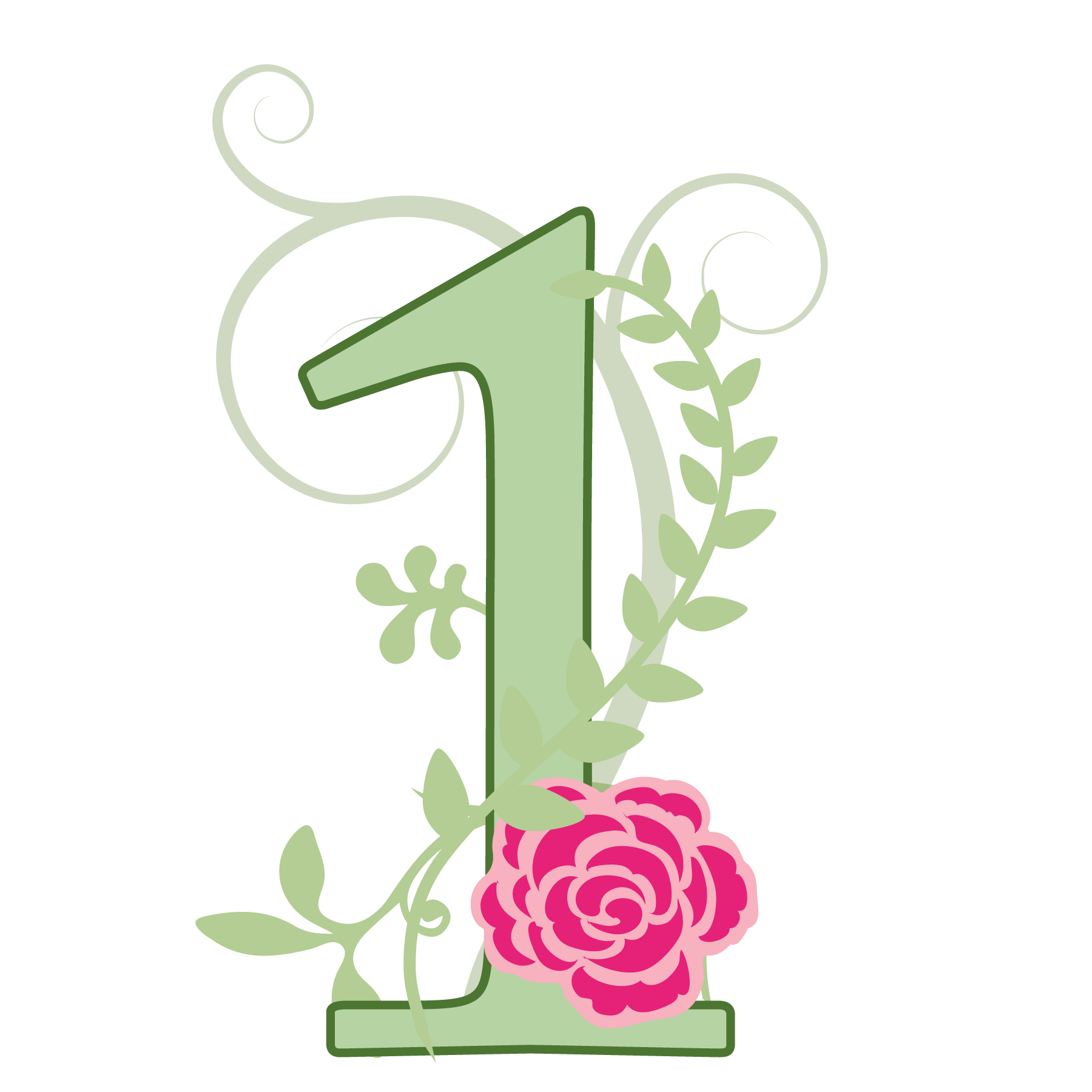 Clipart flower number. Satin suzie scents check
