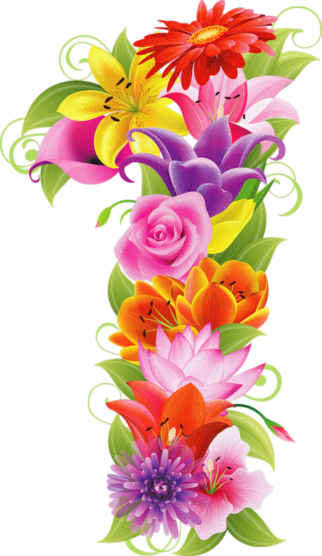 R clipart initial.  png pinterest flowers