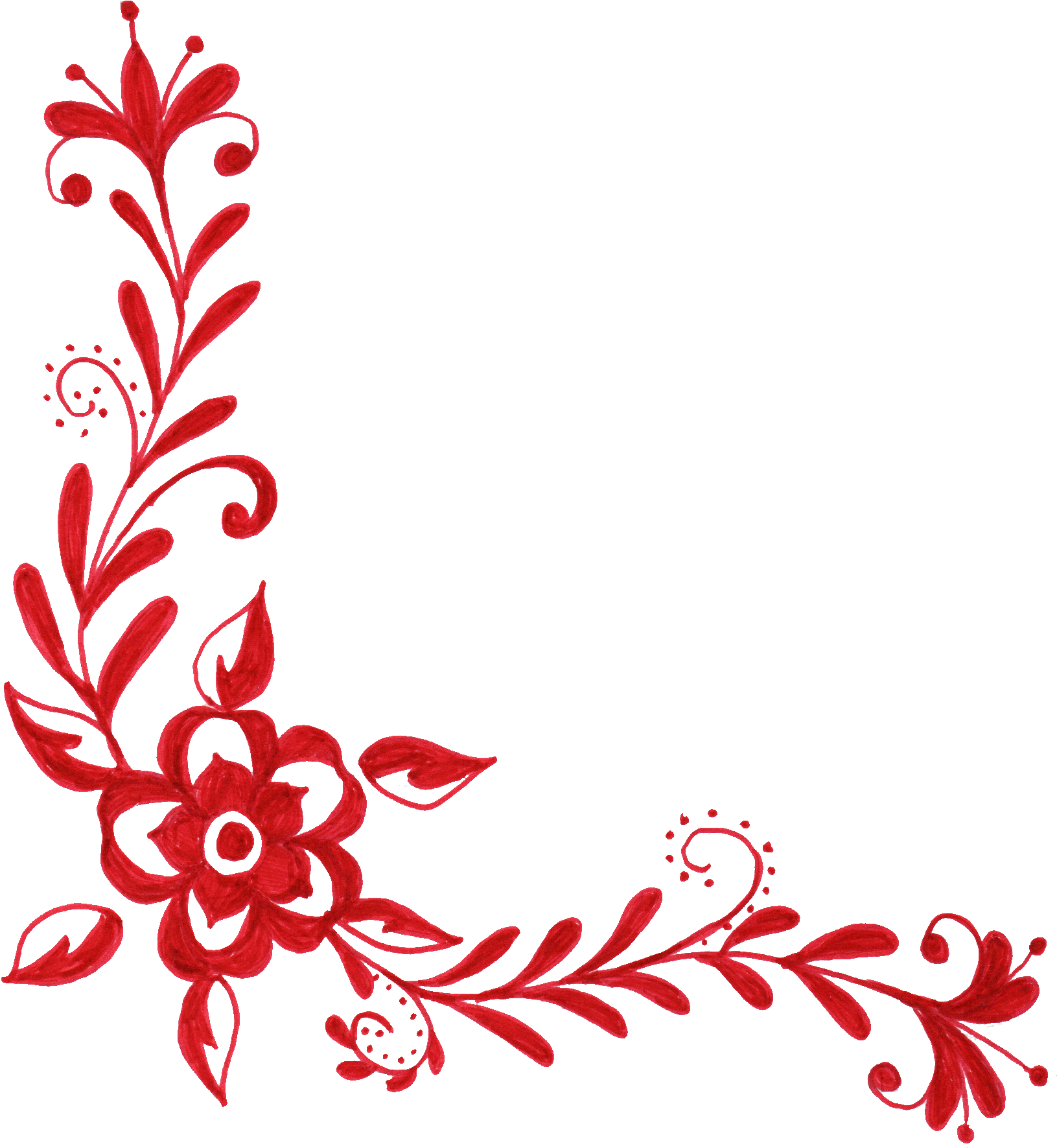 Ornaments clipart floral, Ornaments floral Transparent FREE for download on ...