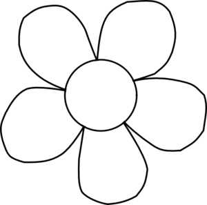 Free cliparts download clip. Flower clipart outline