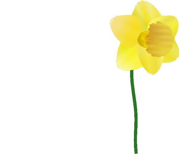 Daffodil clip art at. Clipart park flower