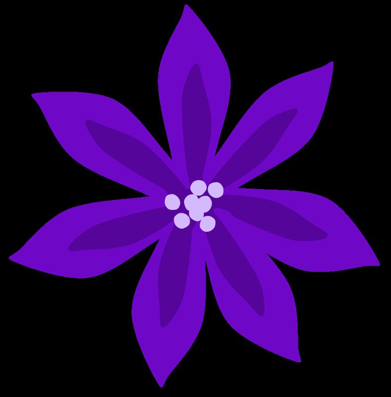 collection of flower. Purple clipart transparent