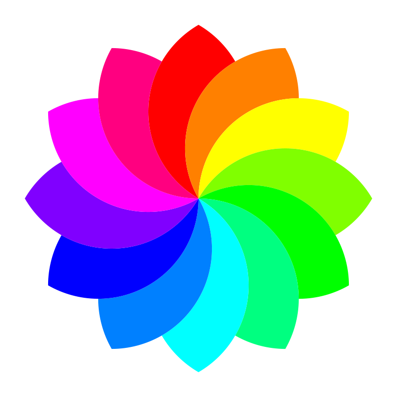 Flower clipart rainbow. Free cliparts download clip