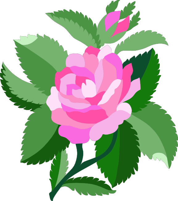Rose clipart animated. Free animations and vectors