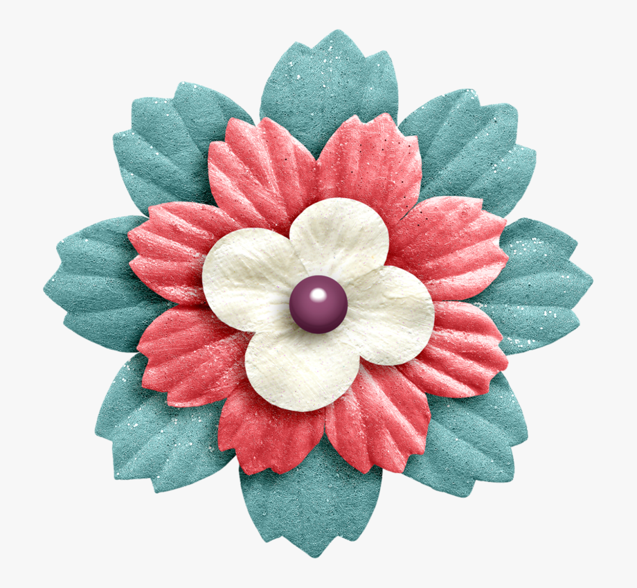 Scrapbook clipart scrapbooking. Flower png and clip