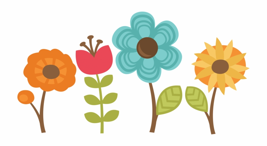 Clipart flower scrapbook. Png miss kate s