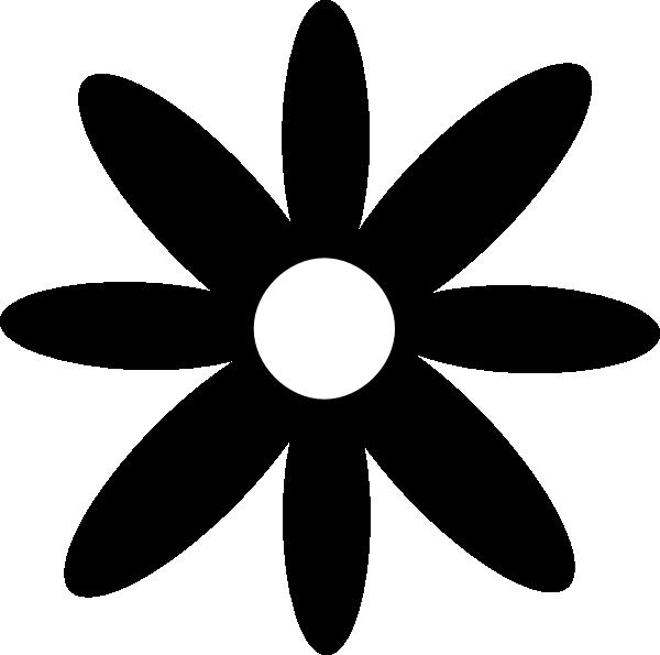 Daisy simple clip art. Dot clipart basic shape