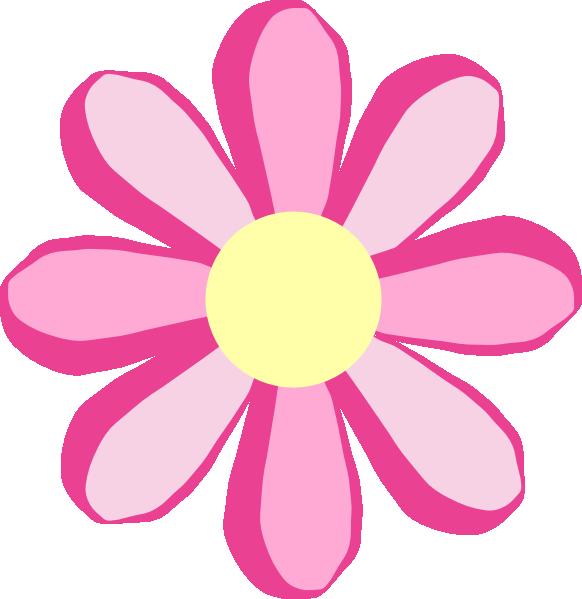 Cute pink . Princess clipart flower