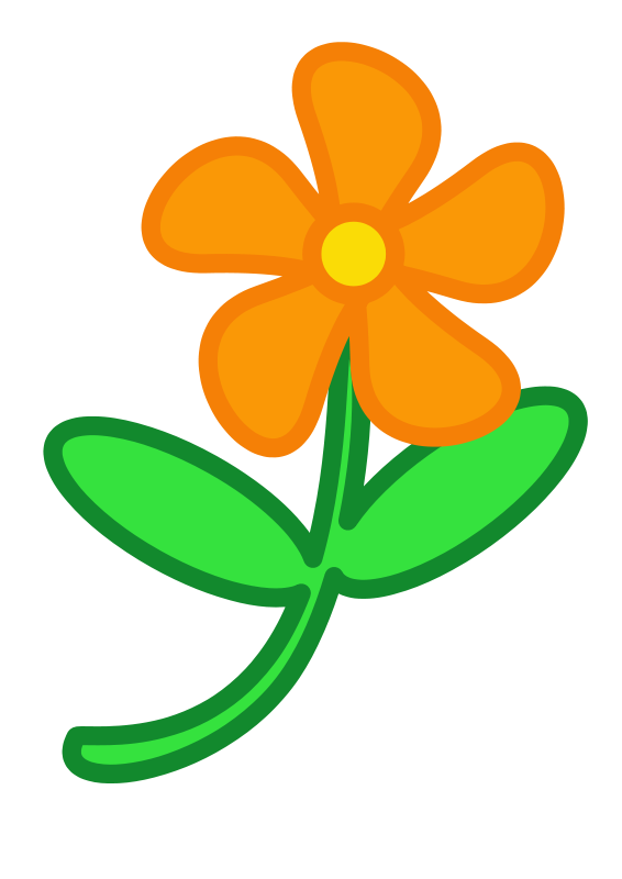 Panda free images spring. Clipart flower simple