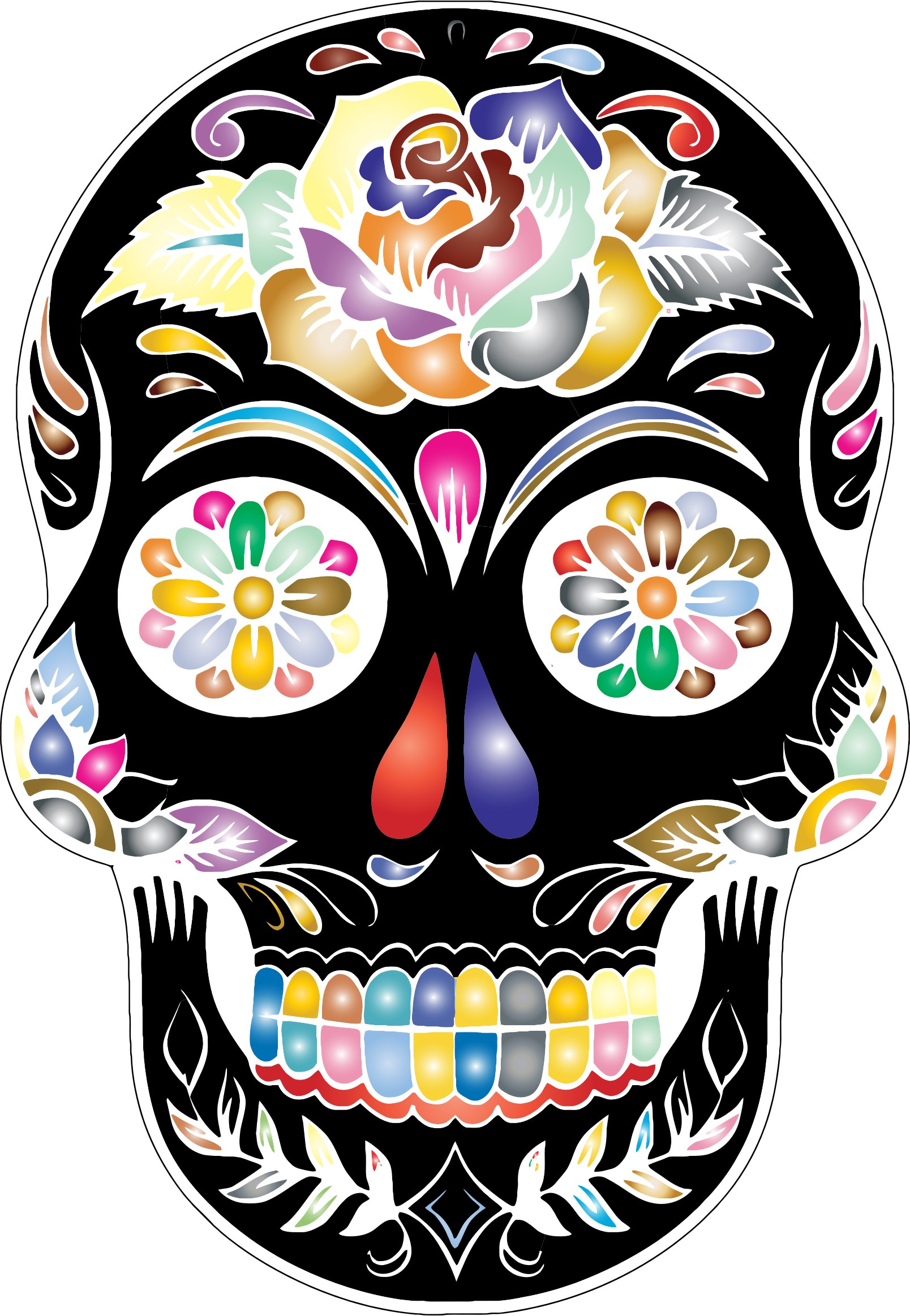 Sugar at getdrawings com. Clipart guitar skull