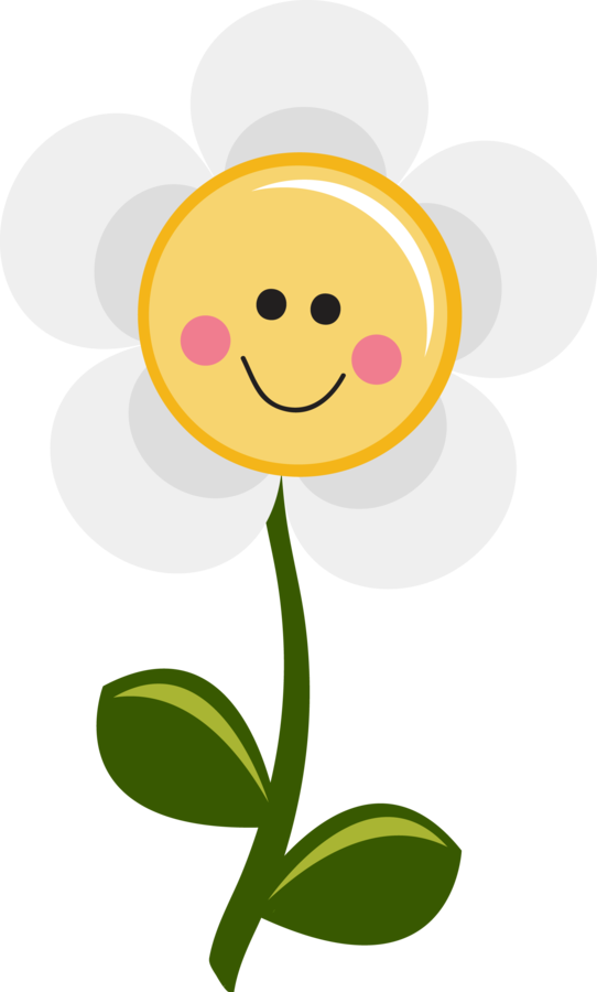 My grafico you are. Flowers clipart smile