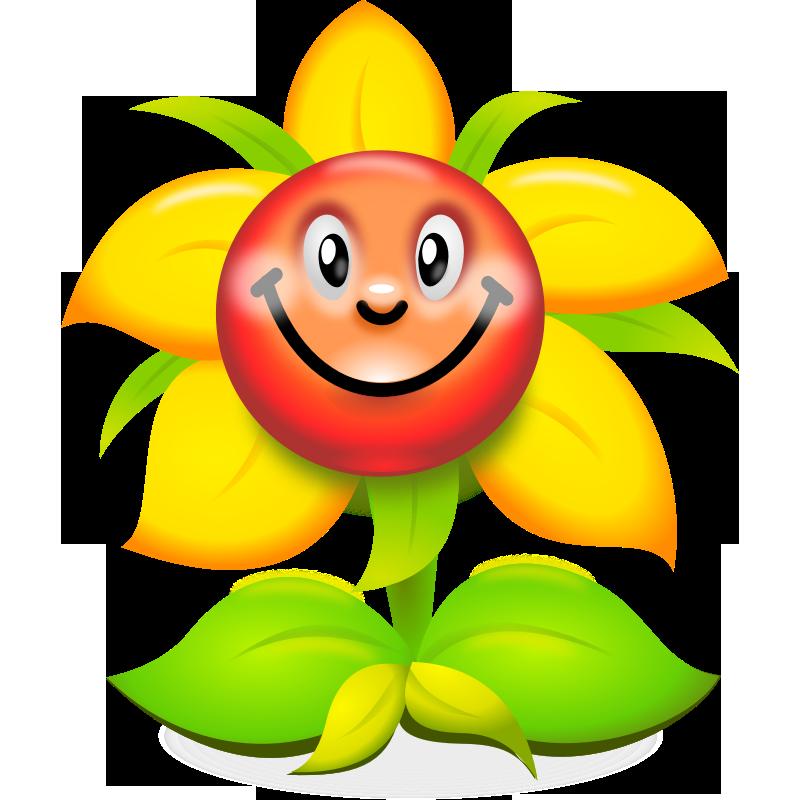 Flowers clipart smile. Floral clip art images