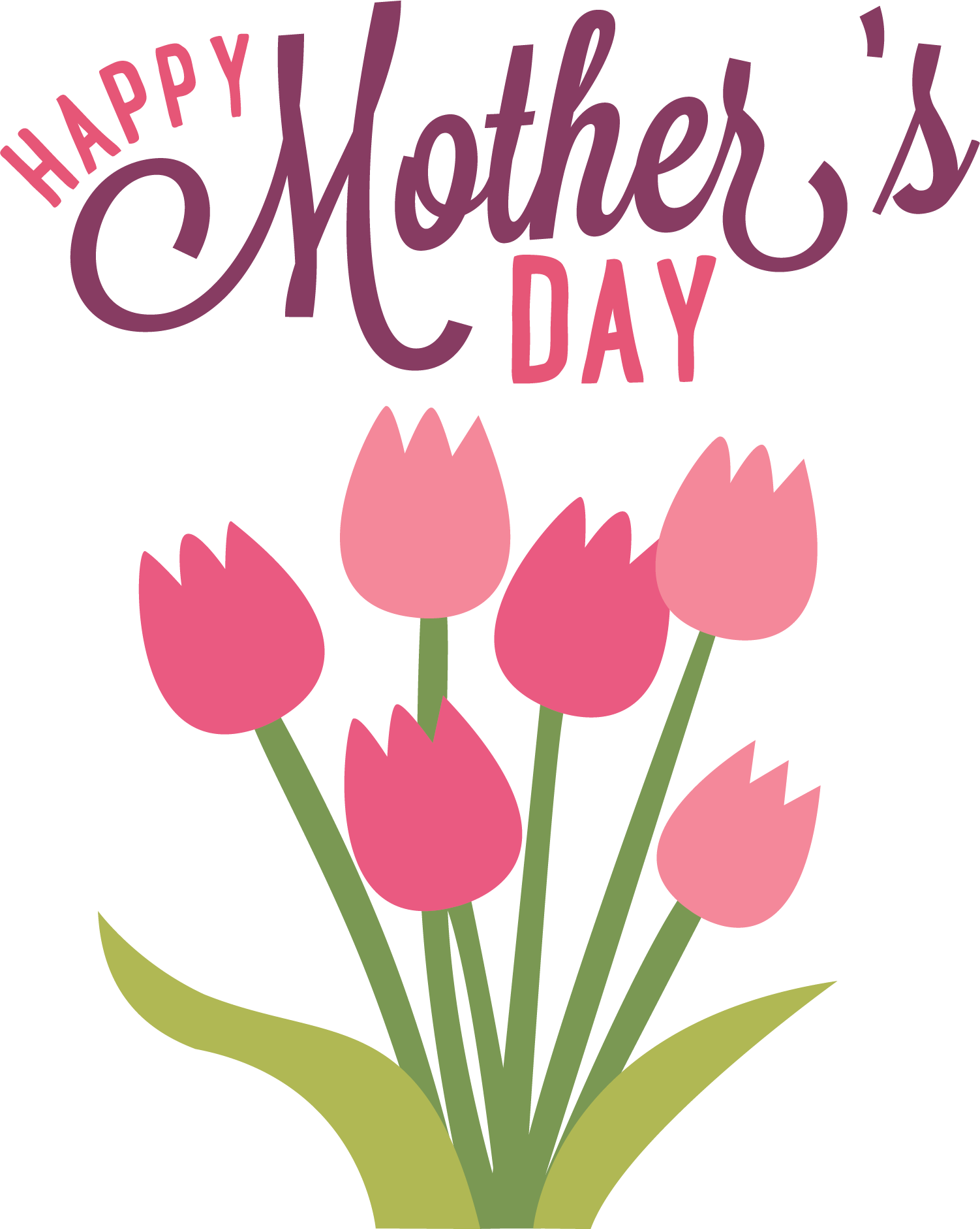 Clipart flower sticker. Happy mothers day flowers