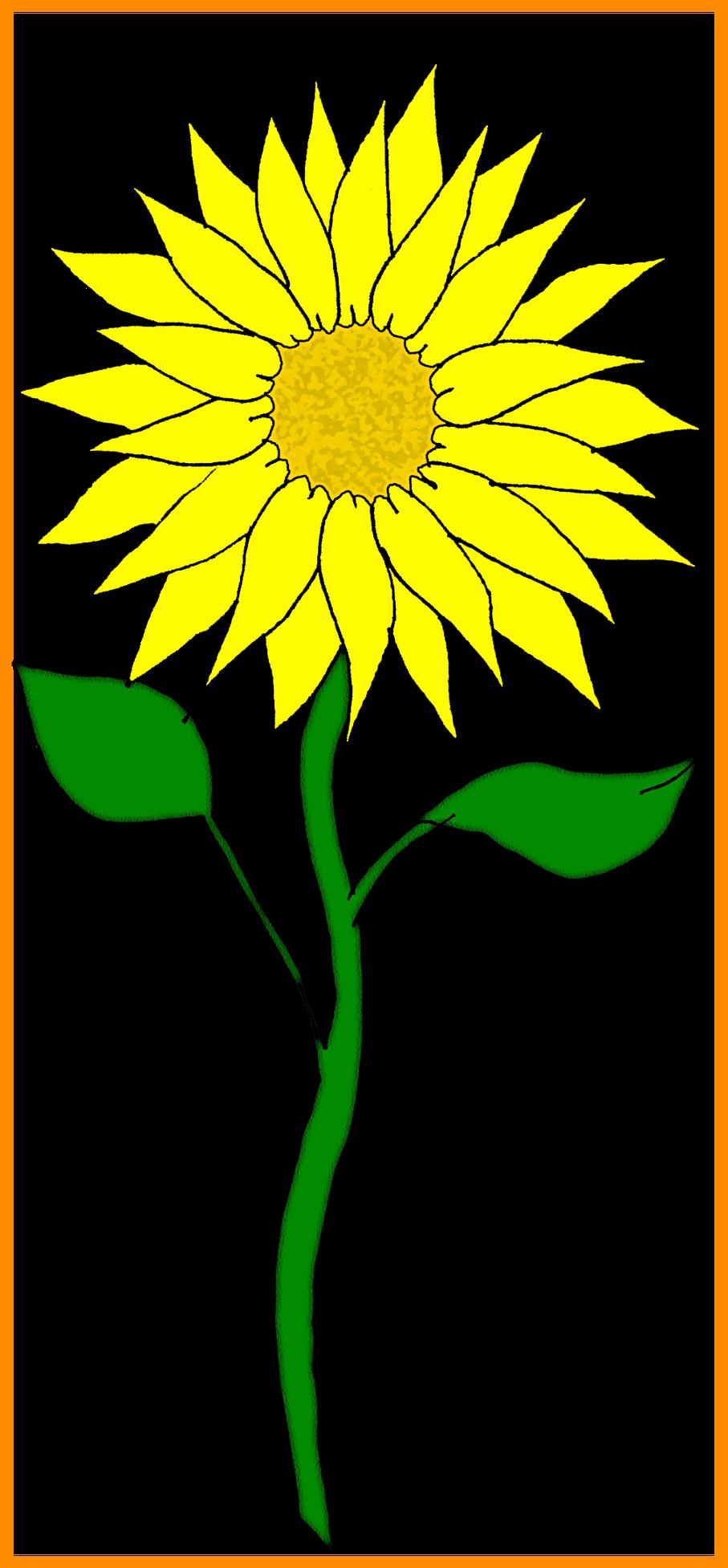 Stunning pict for sunflower. Win clipart flower clipart
