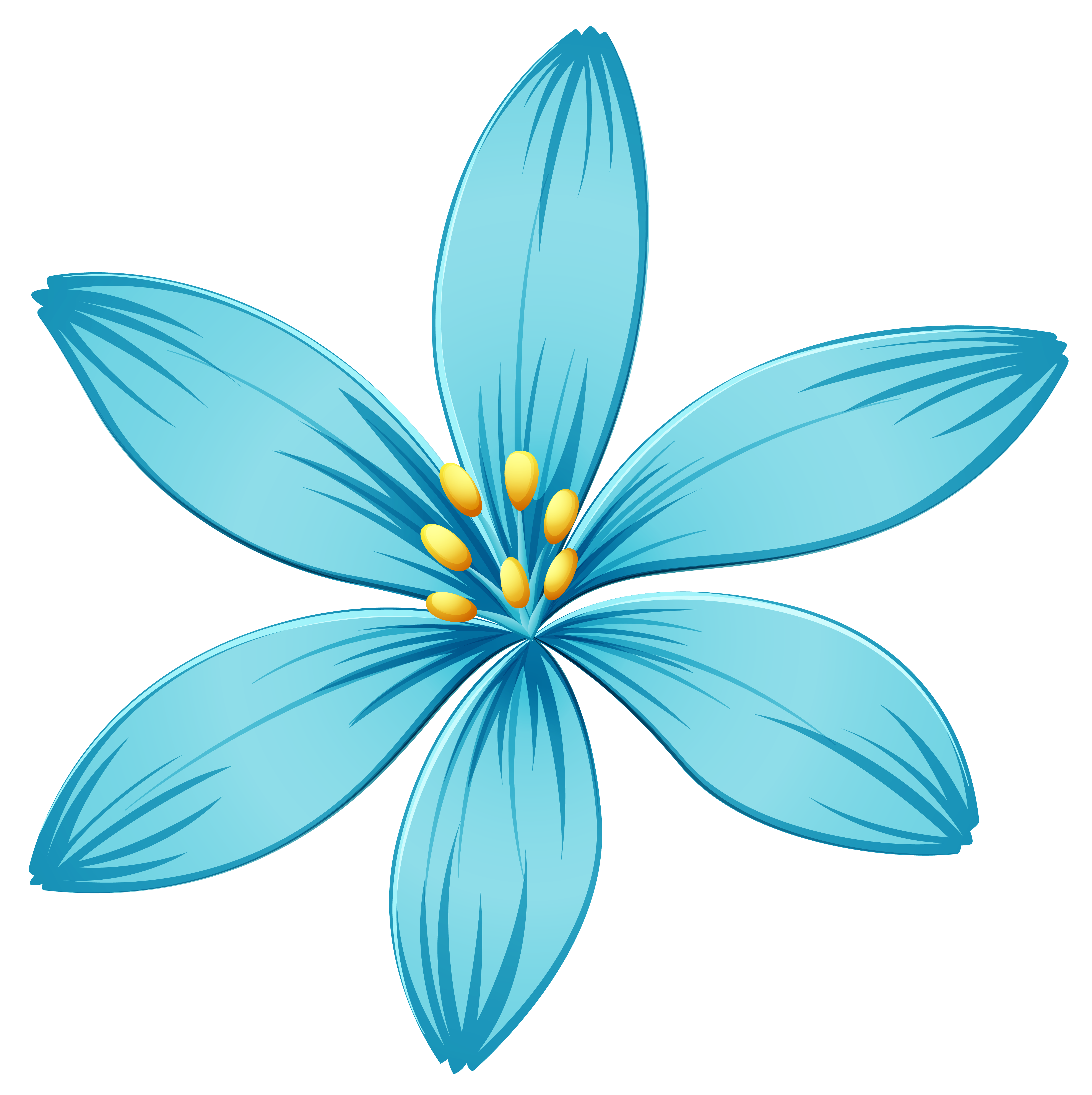 Blue flower png. Image gallery yopriceville high
