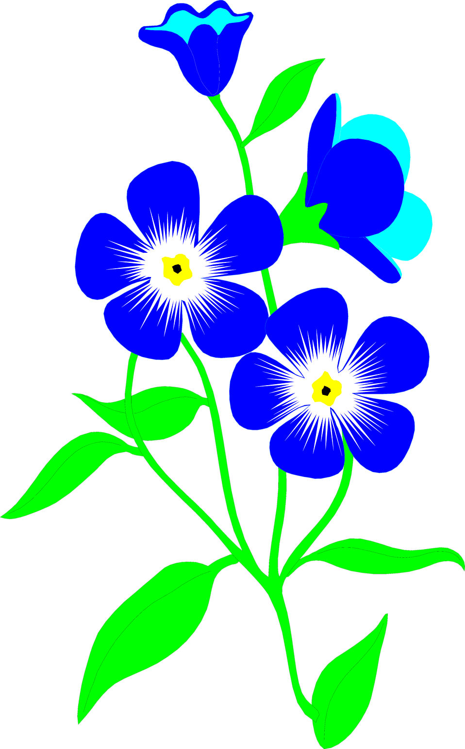 Clipart park flower.  collection of free