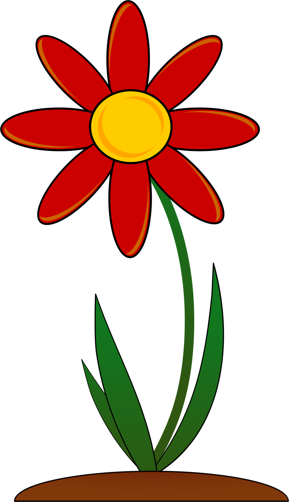 Flowers clipart illustration.  collection of transparent