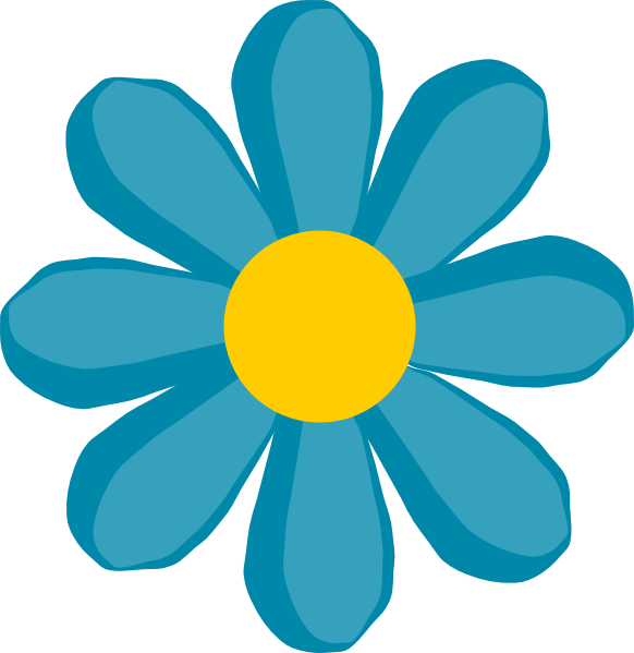 Clipart summer floral. Flower clip art with