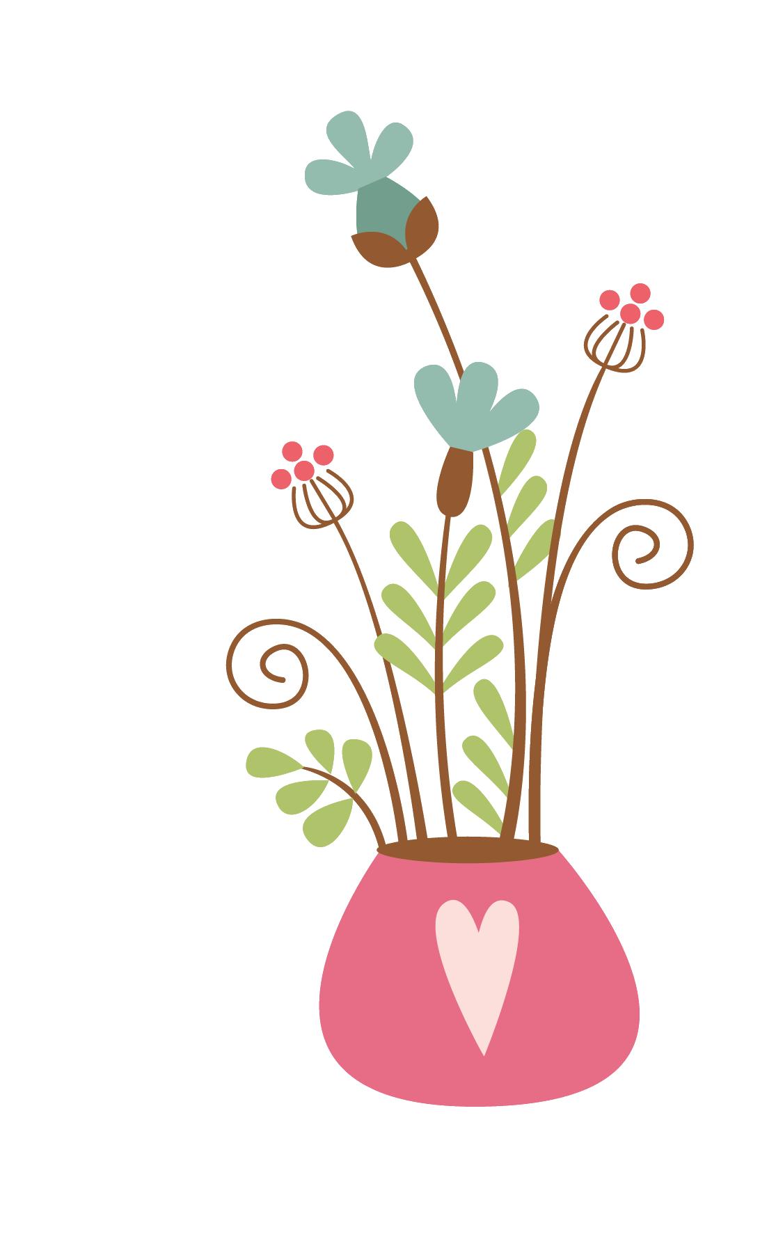egyptian clipart flower vase